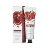 Увлажняющий крем для рук с экстрактом граната JIGOTT Real Moisture Pomegranate Hand Cream 100мл