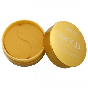 Гидрогелевые патчи с золотом для кожи вокруг глаз PETITFEE Gold Hydrogel Eye Patch 60шт