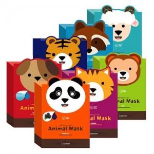 Веселые тканевые маски-мордочки Berrisom Animal Mask Series