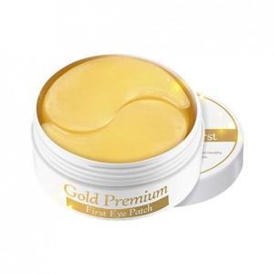 Патчи для глаз с золотом Secret Key Gold Premium First Eye Patch 60 шт