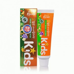 Зубная паста детская(ананас) MUKUNGHWA Kizcare Kids 75гр