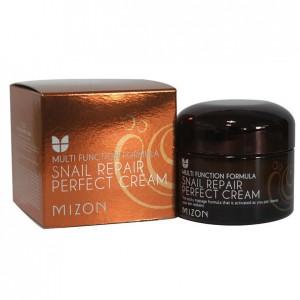 Питательный и восстанавливающий крем с экстрактом слизи улитки Mizon Multi Function Formula Snail Repair Perfect Cream 75мл