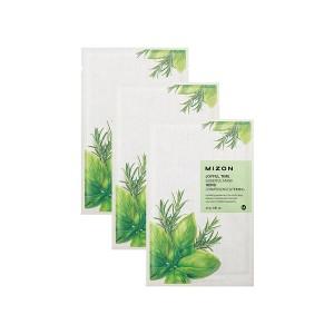 Тканевая маска для лица с комплексом травяных экстрактов Mizon Joyful Time Essence Mask Herb