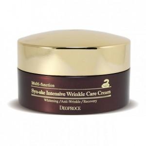Крем против морщин с пептидом змеи (эффект ботокса) DEOPROCE Multi-Function Syn-ake Intensive Wrinkle Care Cream 100мл