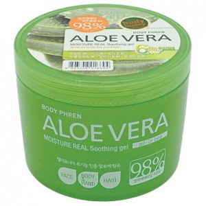 Увлажняющий гель с алоэ Welcos Kwailnara Aloe Vera Moisture Real Soothing Gel 500мл