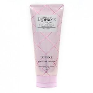 Пенка для умывания с коллагеном Deoproce Well-Being Collagen Clean&Deep Essence Foam Cleansing 170 мл