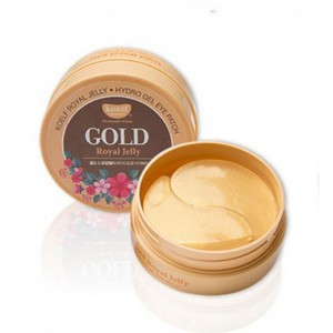 Гидрогелевые патчи для глаз с золотом и маточным молочком PETITFEE KOELF Gold & Royal Jelly Hydrogel Eye 60шт