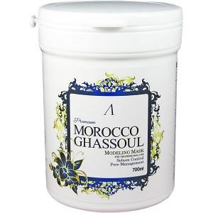Маска альгинатная от расшир. пор (банка)Anskin Morocco Ghassoul Modeling Mask 700 мл