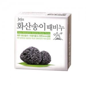 Мыло с вулканическим пеплом Jeju Volcanic Scoria Body Soap 85 гр