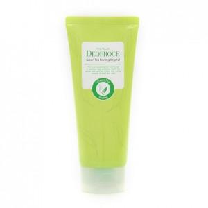 Пилинг-скатка на основе зеленого чая Deoproce Premium Green Tea Peeling Vegetal 170мл