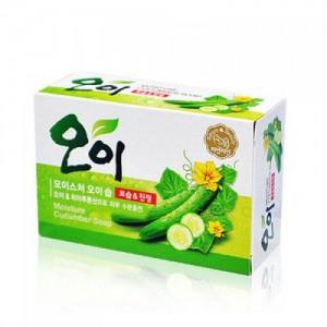 Мыло с экстрактом огурца Mukunghwa Moisture Cucumber Soap 100гр