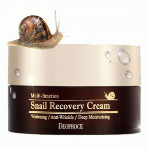 Многофункциональный восстанавливающий крем с муцином улитки DEOPROCE Multi-Function Snail Recovery 100 мл